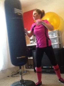 I love to box!