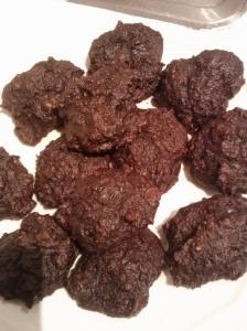Double Chocolate Brownie Bite Cookies