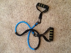 Resistance bands are inexpensive and versatile