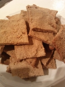 Cinnamon Date Crackers