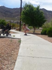 squats at the park