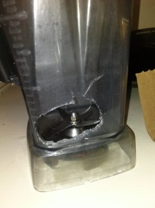 broken vitamix