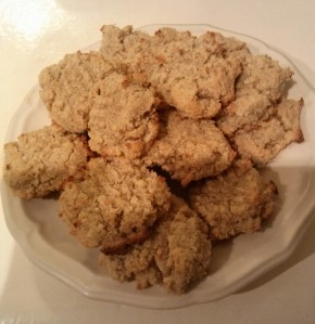 Tropical Coconut Cookies - Paleo