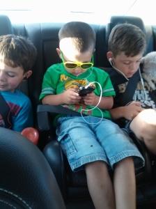 boys on the trip