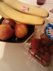 Fresh Fruit.