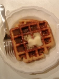 Pina Colada Waffles And Syrup - Paleo