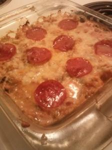 Pizza-ghetti Squash Casserole