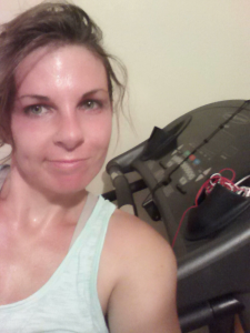 I'm always sweaty and flushed after a run.  I think it's sad when people, typically women, hold back from their potential because they want to stay
