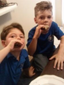 kids love monkey rolls